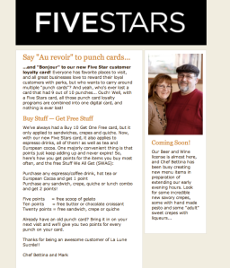 FiveStars Blog Promotion