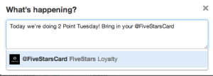 FiveStars Twitter Promotion