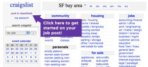 Craiglist Home Page